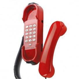 Depaepe HD2000 Emergency Telephone with Keypad (Red)