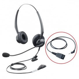 Orchid HS203 Binaural Headset with 2.5mm Jack