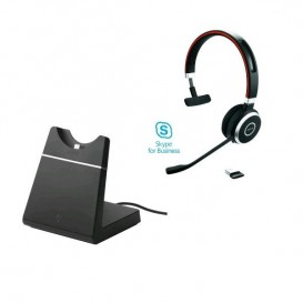 Jabra Evolve 65 MS Mono with Charging Stand (2)