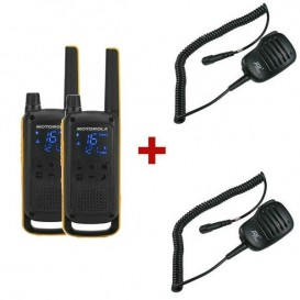 Motorola T82 Extreme Twin Pack with RSM