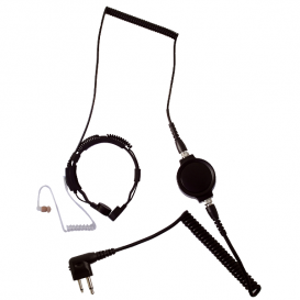 LGR-32M Throat Mic for 2-pin Motorola Radios