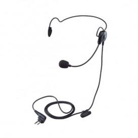 Neckband earpiece for Motorola 2 pin radios