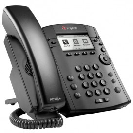 Polycom VVX 301 MS VoIP Desktop Phone (2)