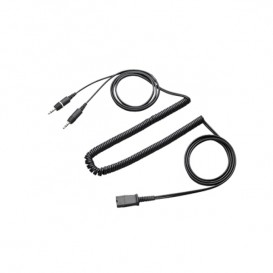 Onedirect QD to Dual 3.5mm Jack Cable for PCs