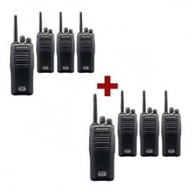 Kenwood TK-3401D ProTalk Digital 446 8-Pack