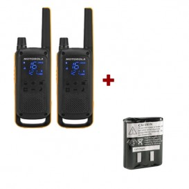Motorola T82 Extreme Twin Pack + Spare Batteries