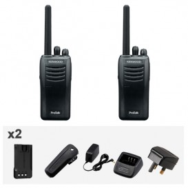 Kenwood TK-3501 Analogue ProTalk 446 - Twin PackTK-3501 Box Content comes with accessories