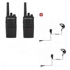 Motorola XT420 + G-shaped earpiece