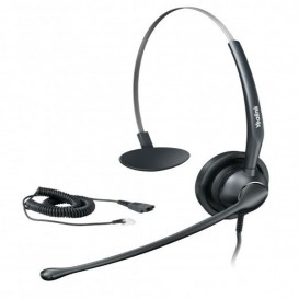 Yealink YHS33 Corded Headset with Free Cable