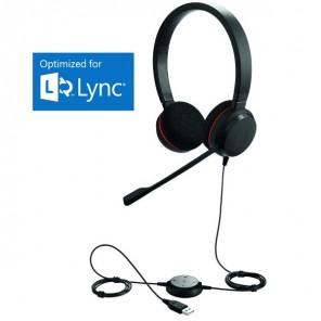 Jabra EVOLVE 20 SE Duo Headset - MS