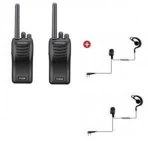 Kenwood TK-3501 Twin pack + Ear hook