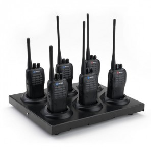 6-way Charger for Mitex General, Security, PRO, PMR446 and PMR446PRO Radios