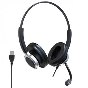 Duo USB Headset with Active Noise Cancellation