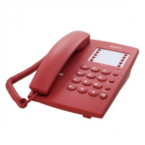 Agent 1000 Basic Telephone Red