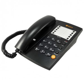 Agent 1000 Black Analogue Desktop Phone