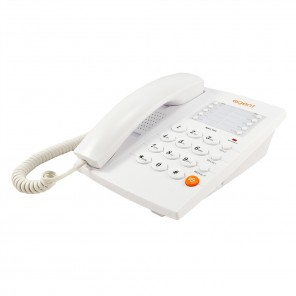 Agent 1000 White Analogue Desktop Phone