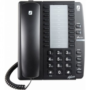 Alphacom a200 Analogue Telephone (Black)