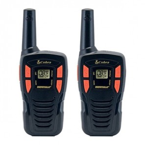 Cobra AM245 PMR 446 Radio - Twin pack