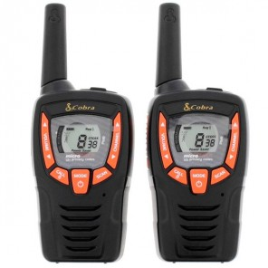 Cobra AM645 PMR 446 Radio - Twin Pack