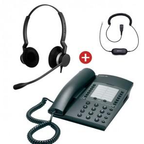 ATL Berkshire 400 + Jabra BIZ 2300 Duo + Cable