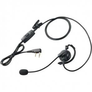 KHS-35F Micro Headset for Kenwood 2 pins
