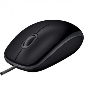 Logitech Silent B110 wired optical mouse