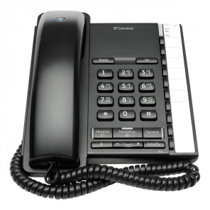 BT Converse 2200 Telephone - Black
