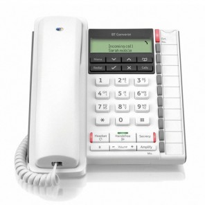 BT Converse 2300 Telephone - White
