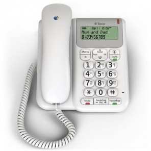 BT Decor 2200 Telephone - White (1)