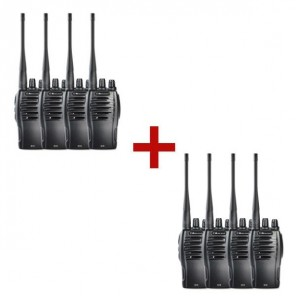 Midland G10 walkie-talkie 8-pack