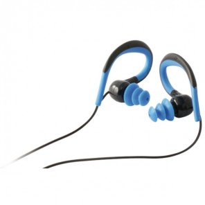 Ksix Waterproof Headset for Mobiles (Blue)