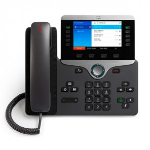 Cisco 8841 VoIP Desktop Phone - Charcoal