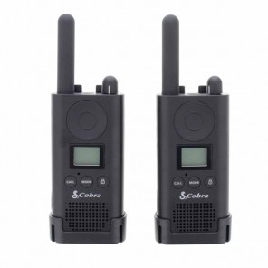 Cobra PU500 Business Radios Twin Pack