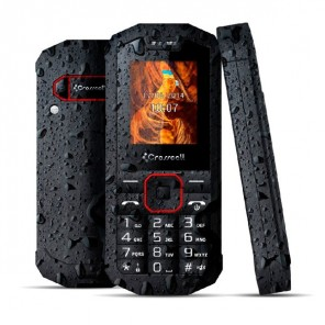 Crosscall Spider X1 Tough Mobile Phone (Black