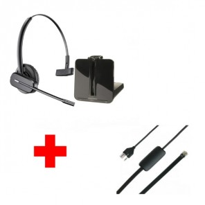Plantronics CS540 + APS-11 EHS cable
