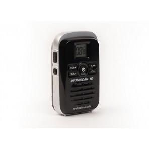 Dynascan 1D PMR446 Walkie Talkie - Black