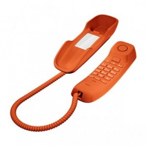 Gigaset DA210 Analogue Phone (Orange)