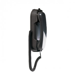 Depaepe HD2000 Wall-Mount Telephone No Keypad (Black)