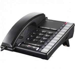 Depaepe Premium 200 Analogue Desktop Phone (Black)