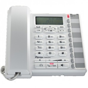 Depaepe Premium 300 Analogue Desktop Phone (White)