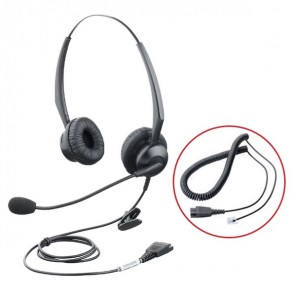 Orchid HS203 Binaural Headset with RJ Connection