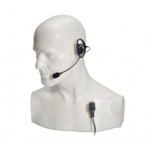 Entel 'D' shaped earpiece with boom microphone