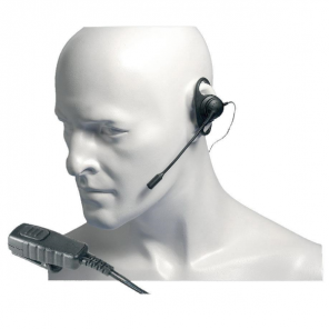 Entel D-Shape Earpiece with Boom Mic for HT Series