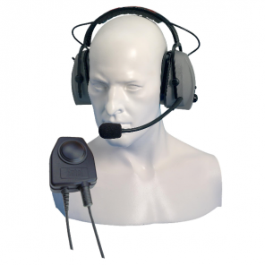 Entel CHP450D Ear Defender with Mic for HX Series