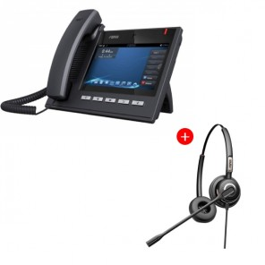 Fanvil C600 deskphone + Fanvil HT202 Headset Bundle