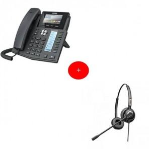 Fanvil X5S Deskphone + Fanvil HT202 Headset