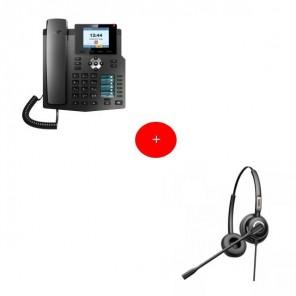Fanvil X4 Deskphone + Fanvil HT202 Headset