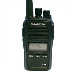 Dynascan R-58 PMR446 Two-Way Radio