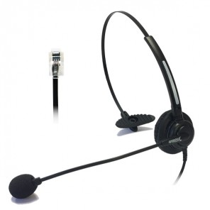 Freemate DH-011U Mono Corded Headset with RJ Connection