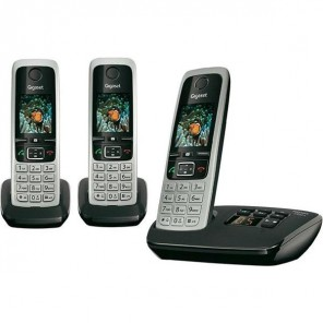 Gigaset C430A Digital Cordless Phone Trio Pack